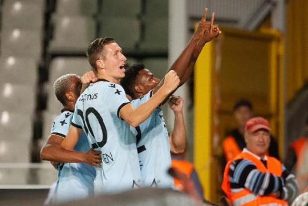Jupiler Pro League - Dominant Club Brugge laat Cercle geen kans in Brugse derby