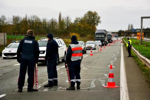 Politie deelde ruim 1.200 pv's uit bij grenscontroles tijdens krokusvakantie