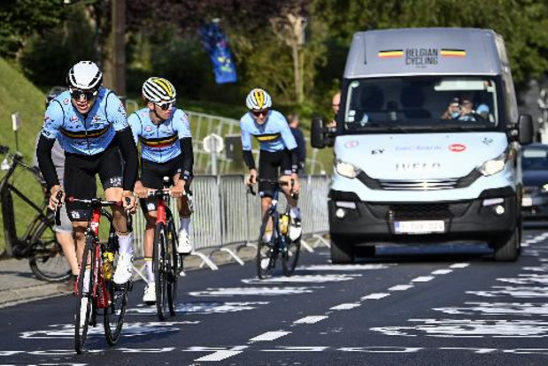 Les espoirs belges en quête d'un nouveau podium dans la course en ligne vendredi