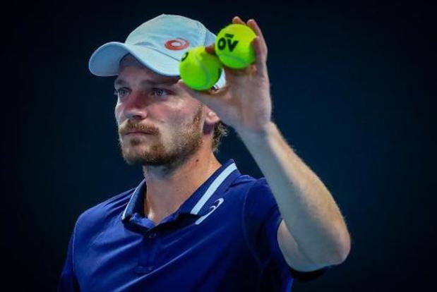"""Goffin veut """"repartir de l'avant et rester positif pour l'Open d'Australie"""""""