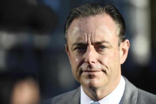 Bart De Wever réclame un système électoral majoritaire pour aller vers le confédéralisme
