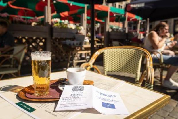 Le Covid Safe Ticket obligatoire en Wallonie dès la mi-octobre