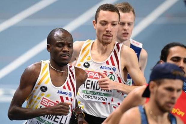 Championnats d'Europe d'athlétisme en salle - Kimeli médaillé d'argent du 3.000 m, le titre pour Jakob Ingebrigtsen et Robin Hendrix 12e