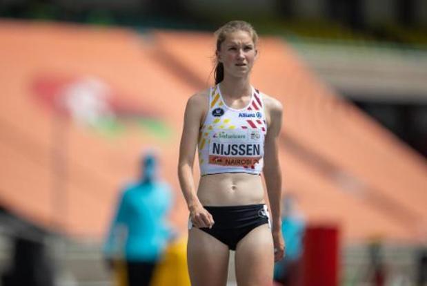 Annelies Nijssen 8e en finale du 800m
