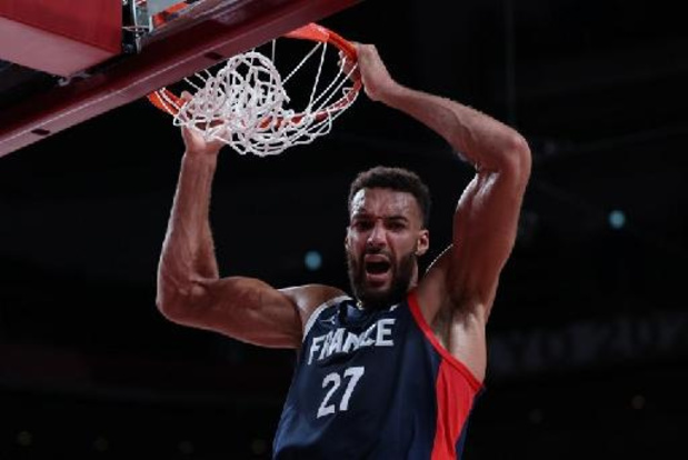Frankrijk bereikt halve finales basketbaltoernooi