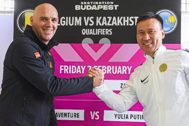 Le capitaine kazakh est confiant avant le duel contre la Belgique