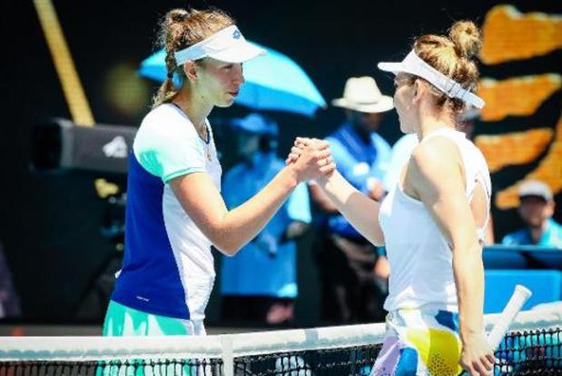 """WTA Prague - Halep, victorieuse à Prague: """"Ce n'est jamais facile de jouer contre Mertens"""""""
