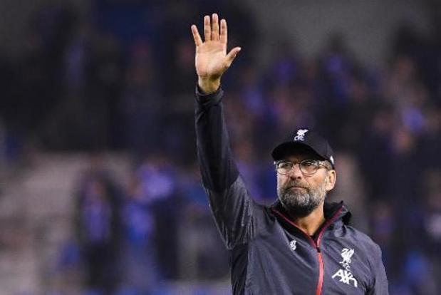 """Champions League - Jürgen Klopp zag Liverpool een uur lang zwoegen: """"Tot tweede goal bleef het spannend"""""""