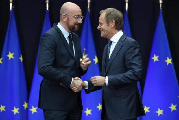 Michel neemt voorzitterschap Europese Raad in handen