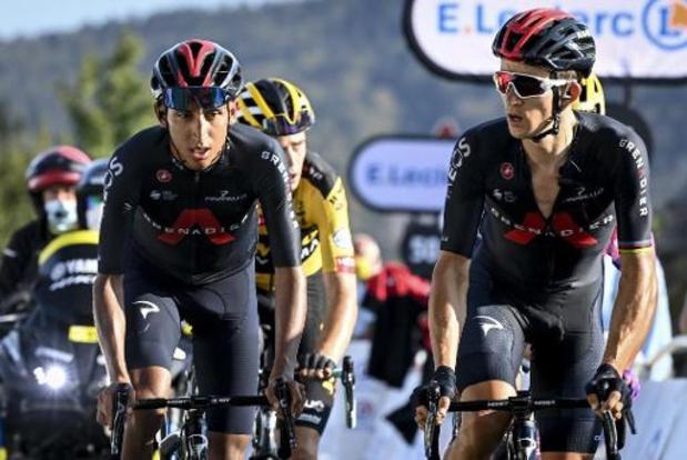 """Tour de France - Bernal: """"Ik ben drie jaar van mijn leven kwijt"""""""