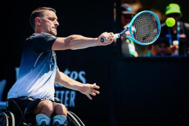 Australian Open - Rolstoeltennisser Joachim Gérard naar halve finale