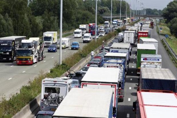 Les revenus des taxes de circulation en augmentation ces dernières années en Flandre