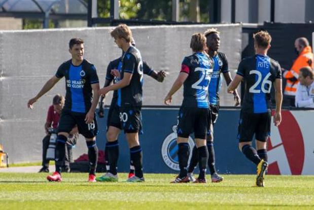 Jupiler Pro League - Le Club Bruges en passe six à Malines en deux rencontres d'une heure