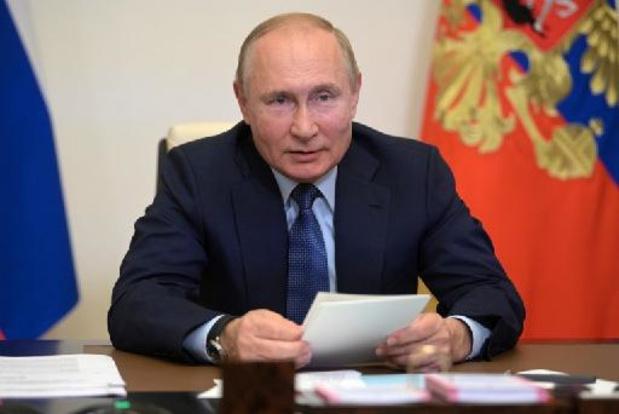 Poutine juge que les erreurs des Européens sont à l'origine de la crise des prix du gaz