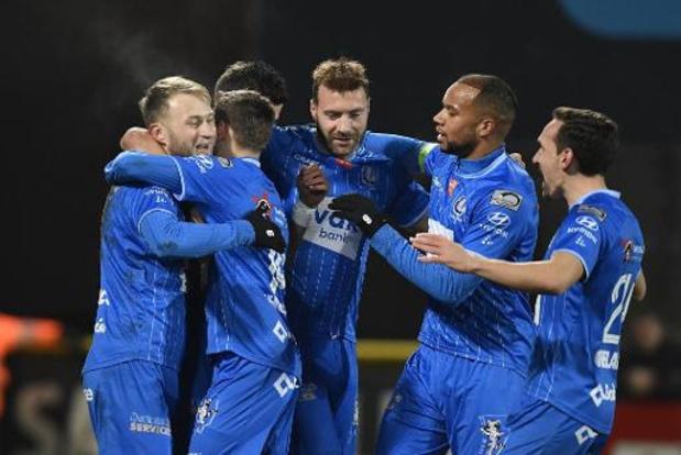 Jupiler Pro League - La Gantoise s'impose à Courtrai et conserve la troisième place
