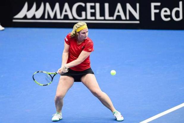 WTA Palerme - Ysaline Bonaventure éliminée au 2e tour des qualifications