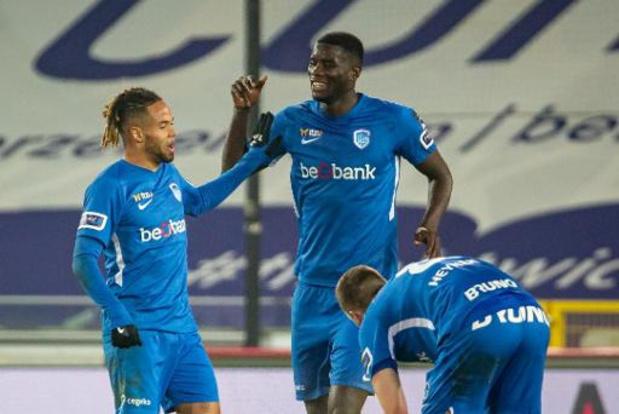 Jupiler Pro League - Genk cartonne au Cercle et déloge provisoirement le Club Bruges de la 1e place