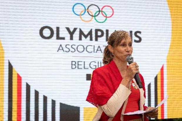 Kim Gevaert ontvangt Orde van Verdienste van BOIC
