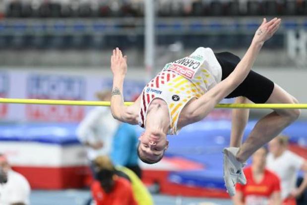 EK atletiek indoor - Thomas Carmoy plaatst zich voor hoogspringfinale