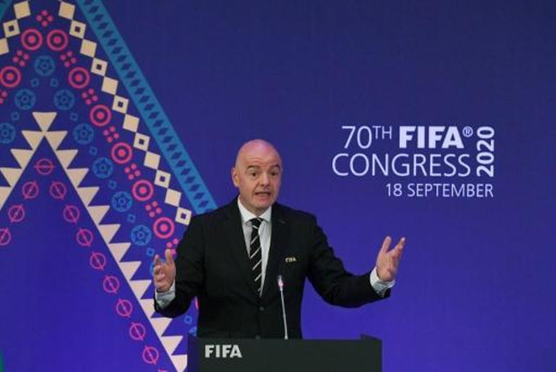 Gianni Infantino test positief op COVID-19