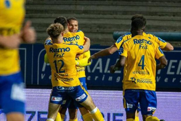 Waasland-Beveren boekt in inhaalmatch tegen Oostende eerste thuiszege in 2020
