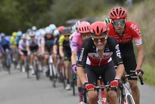 Lotto Soudal avec sept Belges et Tim Wellens à la Vuelta, Philippe Gilbert absent