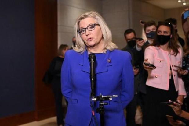 Liz Cheney weggestemd uit Republikeinse partijtop