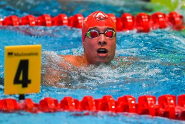 Euro en petit bassin: Pieter Timmers qualifié pour les demies du 50 m libre