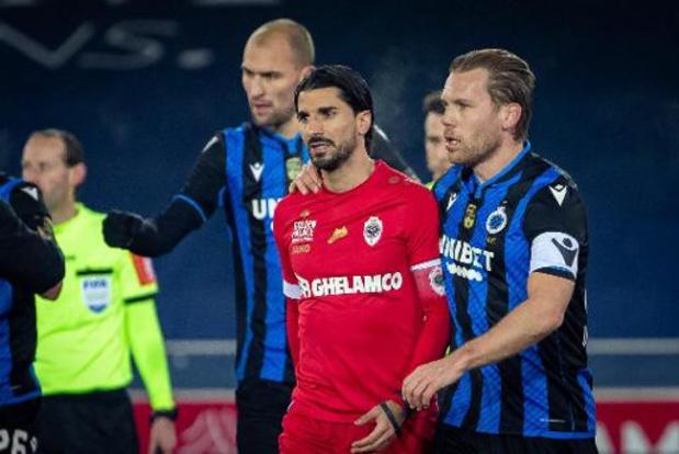 Croky Cup - Le Club de Bruges ne s'est pas laissé surprendre par l'Antwerp (3-1) et jouera les quarts