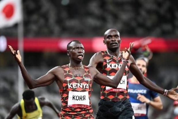 Le Kényan Emmanuel Korir champion olympique du 800 m