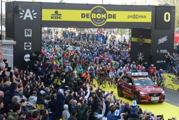 Startplaats Gent-Wevelgem en Ronde van Vlaanderen gewijzigd