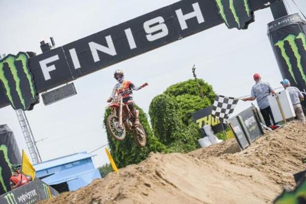 WK motorcross - GP van Spanje - Jorge Prado pakt de zege in Spanje, Jago Geerts tweede in MX2