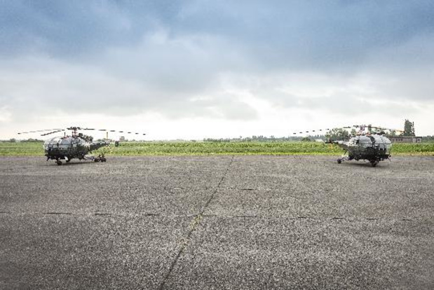 Les hélicoptères Alouette III tirent leur révérence après 50 ans de service
