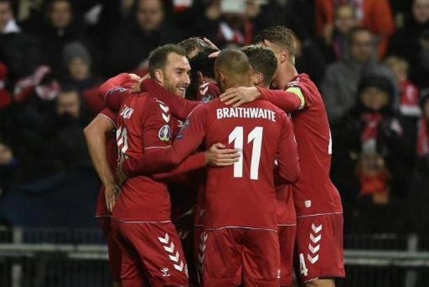 UEFA Nations League: Denemarken maakt selectie bekend voor interland tegen België
