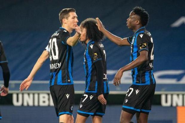 Coupe de Belgique - Le Club Bruges domine Olsa Brakel et retrouvera l'Antwerp au tour suivant