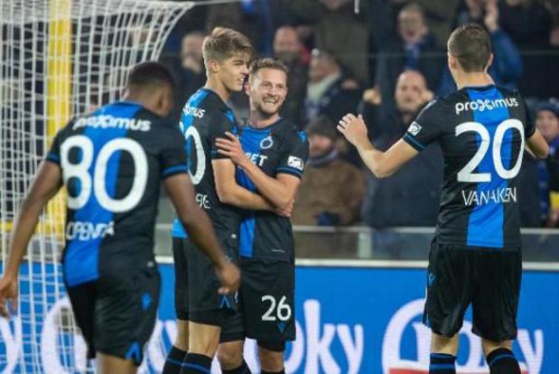 Croky Cup - Zulte Waregem accroche le Club de Bruges en demi-finale aller et maintient ses chances