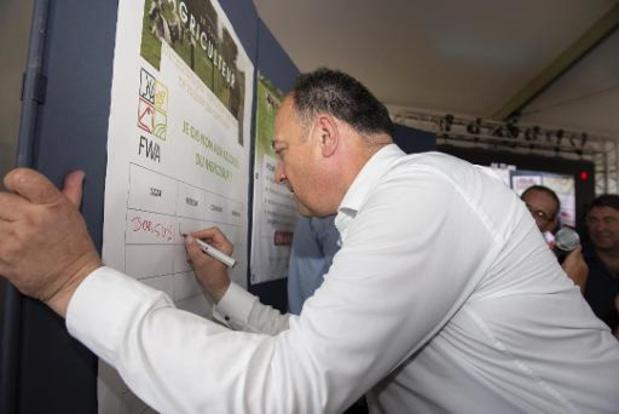 Agriculture bio en Wallonie: Borsus promet un plan ambitieux tenant compte des remarques