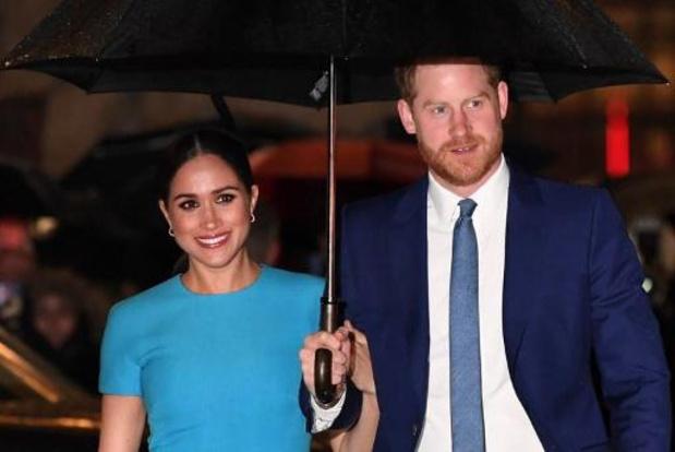 Le Prince Harry et Meghan Markle installés dans leur nouvelle maison en Californie