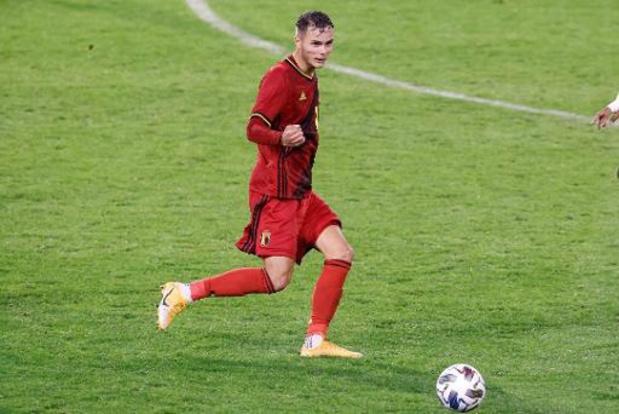 """Rode Duivels - Zinho Vanheusden na debuut: """"Heel trots, maar kan nog beter"""""""