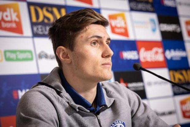 Alessio Castro-Montes prolonge à La Gantoise jusqu'en juin 2024