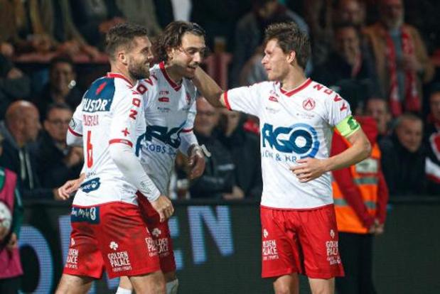 Jupiler Pro League - Kortrijk klimt naar veiliger oorden na vlotte thuiszege tegen STVV