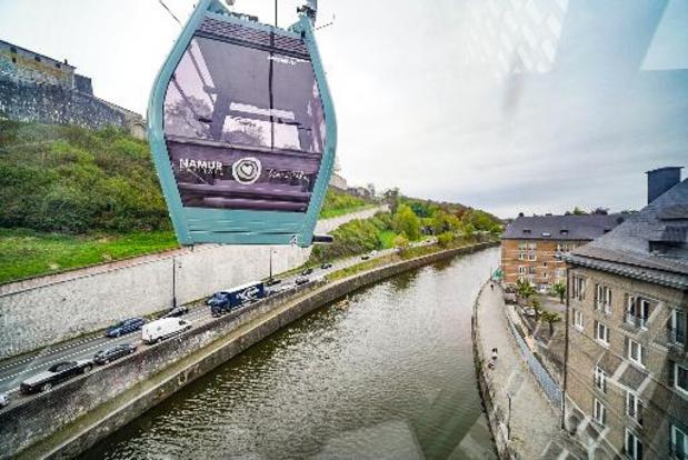 A la rentrée, le téléphérique de Namur emmènera les enfants à l'école