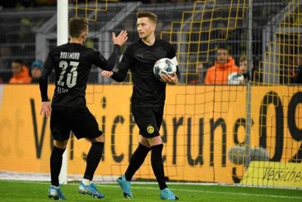 Les Belges à l'étranger - Thorgan Hazard, buteur et à l'assist, inflige une correction à Dusseldorf avec Dortmund