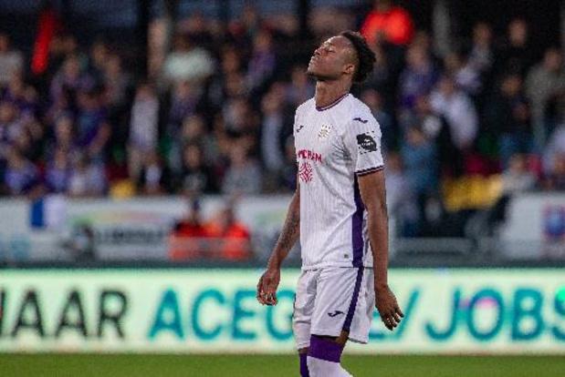 Jupiler Pro League - Le Comité disciplinaire confirme la suspension de Kouamé, suspendu contre Bruges