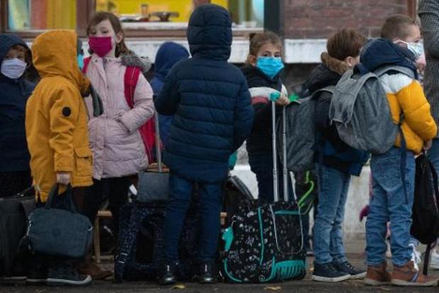 Studie Sciensano bevestigt: scholen geen voorloper van epidemie, eerder nakomer