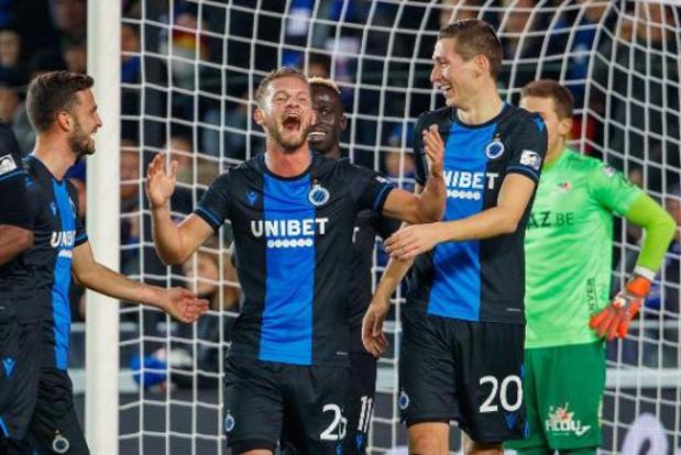 Jupiler Pro League - Club Brugge gaat op spaarmodus voorbij Oostende