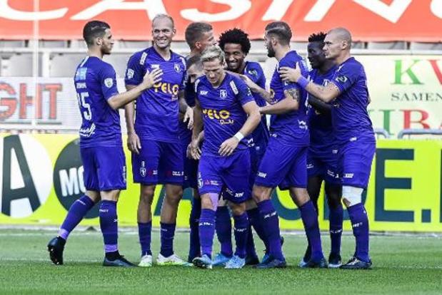 Jupiler Pro League - Beerschot pakt meteen volle buit op KV Oostende, OH Leuven en Eupen delen de punten