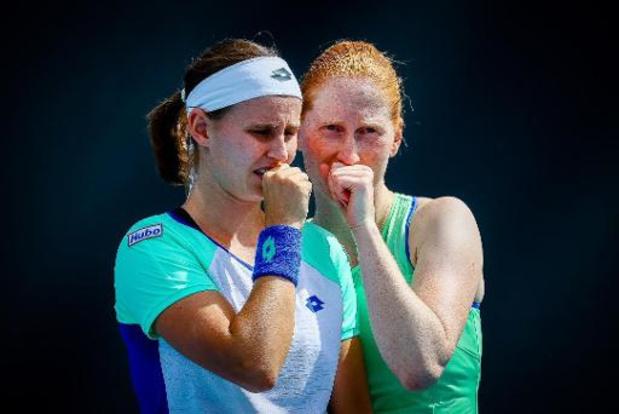WTA Palerme - Van Uytvanck et Minnen se qualifient pour le deuxième tour en double