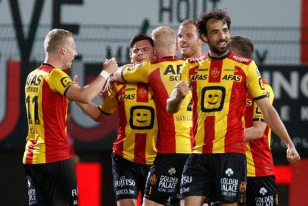 Jupler Pro League - KV Mechelen hijst zich met 2-3 in Kortrijk naast Club Brugge en Moeskroen
