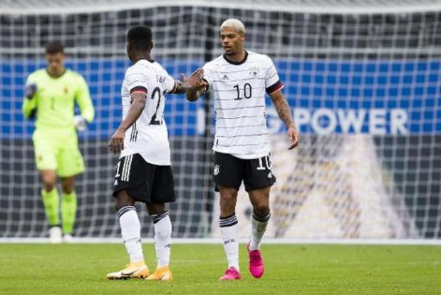 Euro U21 2021 - Qualifications - L'Allemagne prend la tête du groupe aux dépens de la Belgique